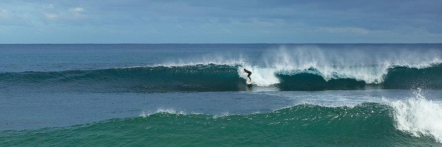 'Car Parks' surf break, Injidup, South Western Australia