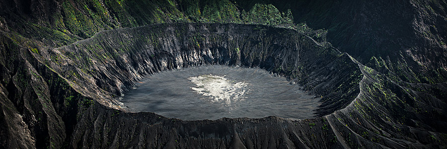 Volcanic Crater, Papua New Guinea