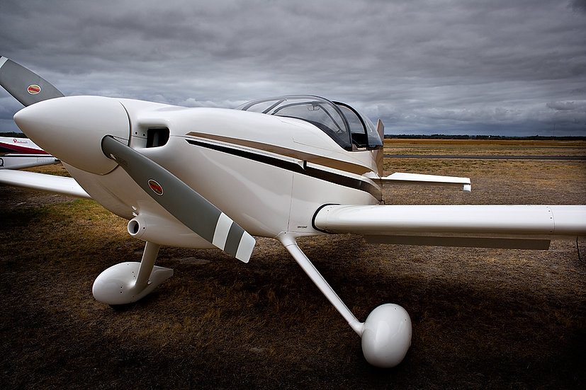 RV6 Homebuilt Aircraft plane