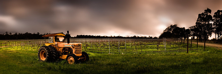 Tractor, Wilyabrup, Margaret River, South Western Australia