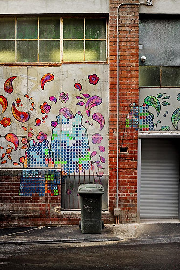 Beautifying Perth City with Colour and Graffiti