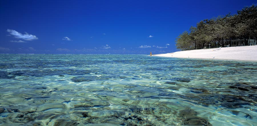 Eli Creek beach, Fraser Island, Queensland, Australia