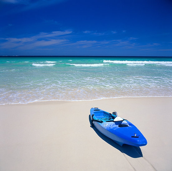 Kayak on Boranup Beach, Margaret River, South Western Australia