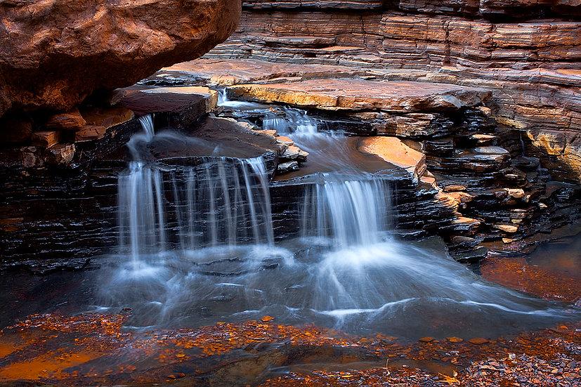 Waterfall, Karijini National Park, Pilbara, North Western Australia
