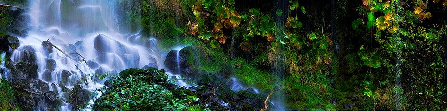 Mossbrae Falls California USA