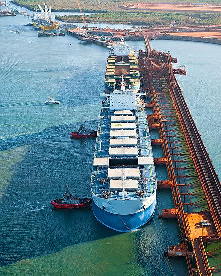 Port, Port Hedland, Pilbara, North Western Australia