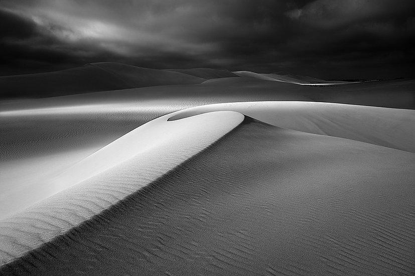 Sand Dunes Black & White