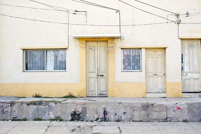 Terrace House, Valparaiso, Chile, South America