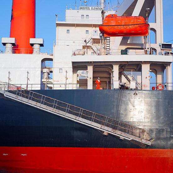 Iron Ore Ship, Port Hedland, Mining, North Western Australia