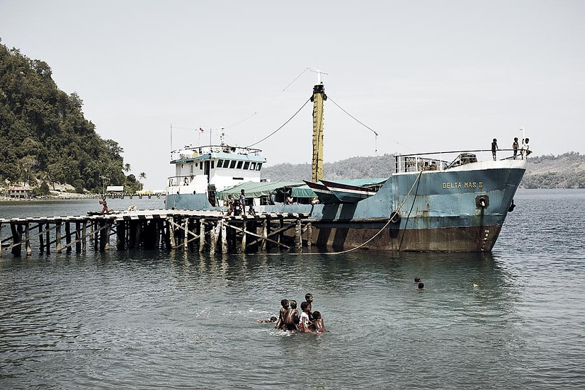 Harbour Swimming, West Papua