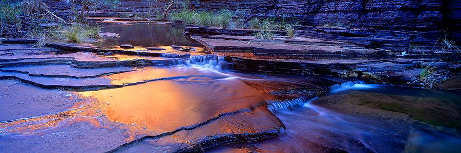 Waterfall, Karijini National Park, Pilbara, North Western Austra
