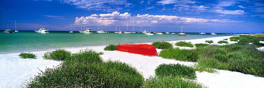 Boats, Geographe Bay, Dunsborough, South Western Australia