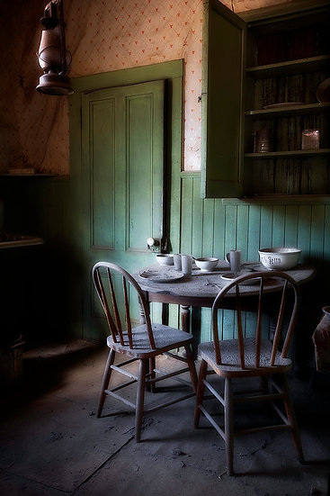 Old Table Bodie California USA