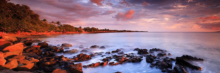 Maui Sunset, Hawaii, USA