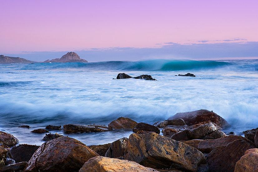 Waves at Windmills Beach, Cape Naturaliste, South Western Australia