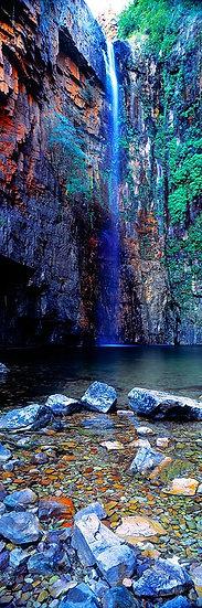 Waterfall, Emma Gorge, Kimberley, North Western Australia