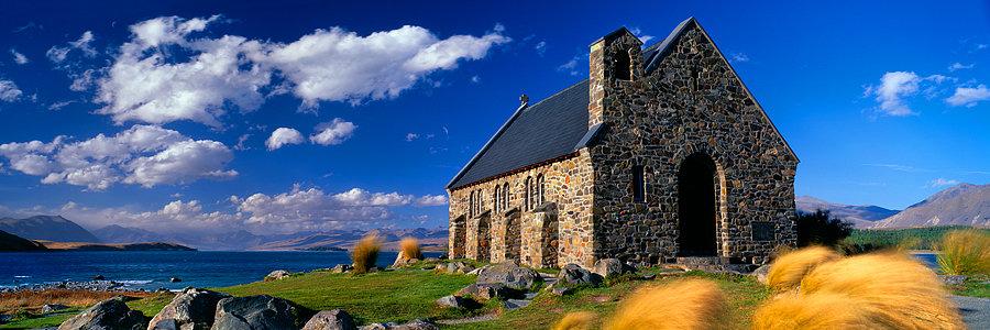 Church, South Island, New Zealand