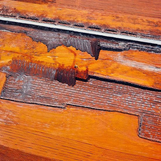 Orange sand patters, Mine, Western Australia