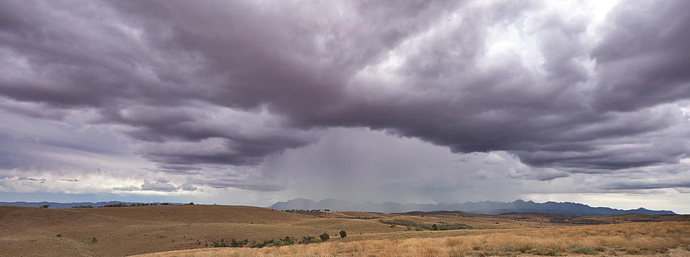 Storm over the Flinders Ranges, South Australia