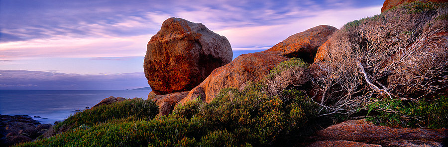 Granite boulders at Smith Point, Yallingup, South Western Australia