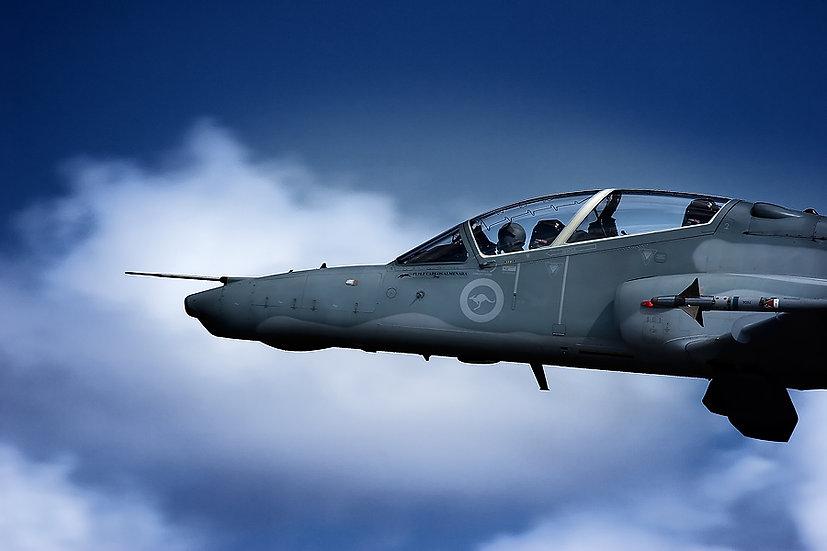 Hawk aeroplane.
