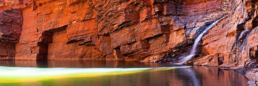 Handrail Pool, Karijini National Park, Pilbara, North Western Australia