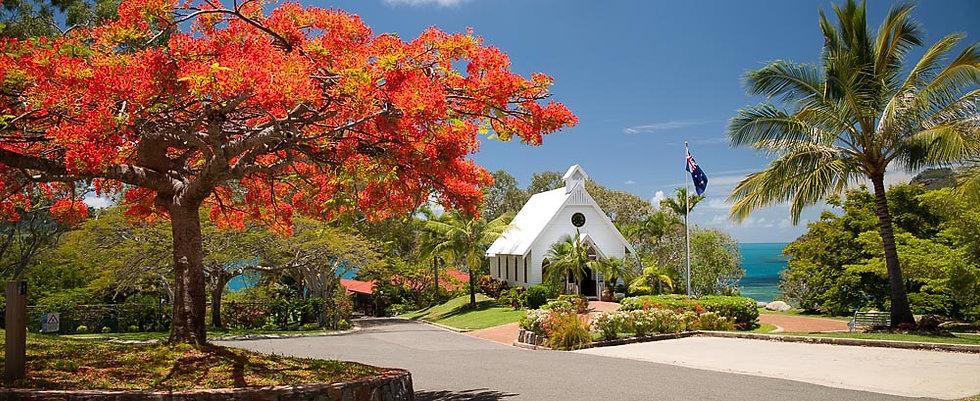 All Saints Chapel, Hamilton Island, Whitsunday Islands, Queensland, Australia