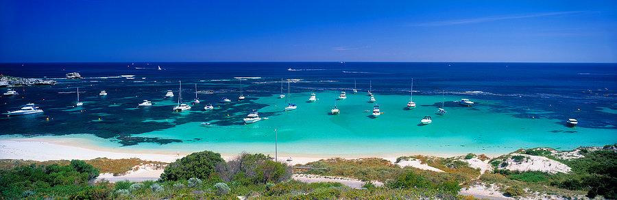 Longreach Bay, Rottnest Island, Perth, Western Australia