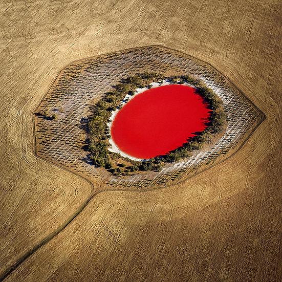 Salt Lake Stirling Ranges, Western Australia