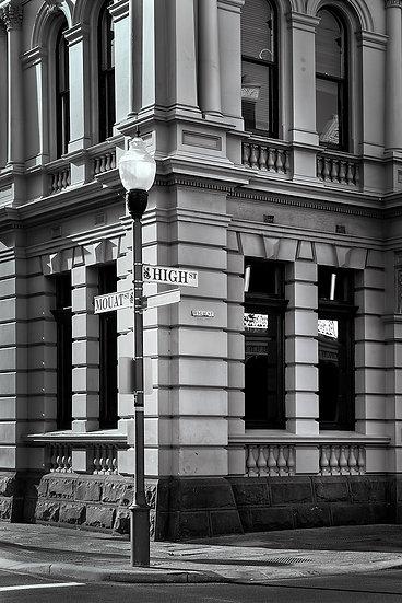 High Street historic building, Fremantle, Perth, Western Australia