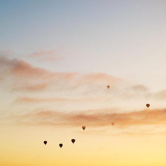 Hot Air Balloons Sunrise, Melbourne, Victoria, Australia