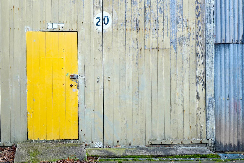 Yellow Door, Launceston, Tasmania, Australia