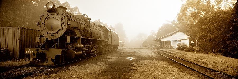 Old Steam Train, Pemberton, South Western Australia