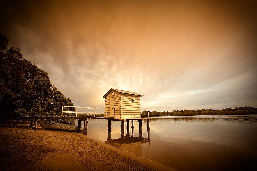 Boat Shed, Sunshine Coast, Queensland, Australia