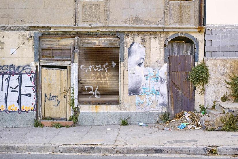 Run Down Building, Valparaiso, Chile, South America