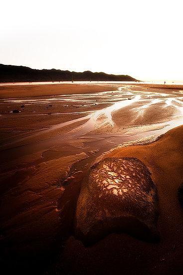 Magnetic Island beach at sunrise, Queensland, Australia