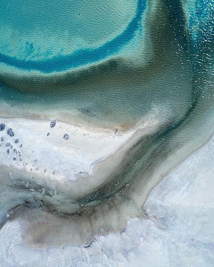 Salt Lake Aerial Wheatbelt, Western Australia