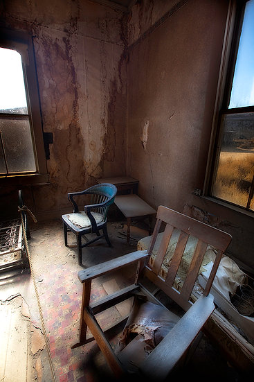 Old Chair Bodie California USA