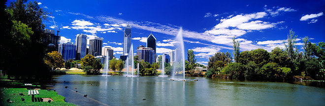 Fountains, Perth City, Western Australia