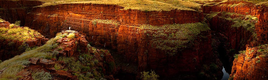 Oxer Lookout, Karijini National Park, Pilbara, North Western Australia