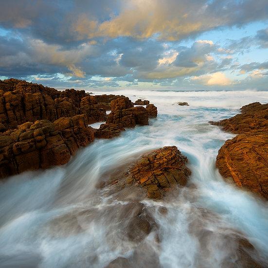 Beach. Honeycombs Coastal Western Australia
