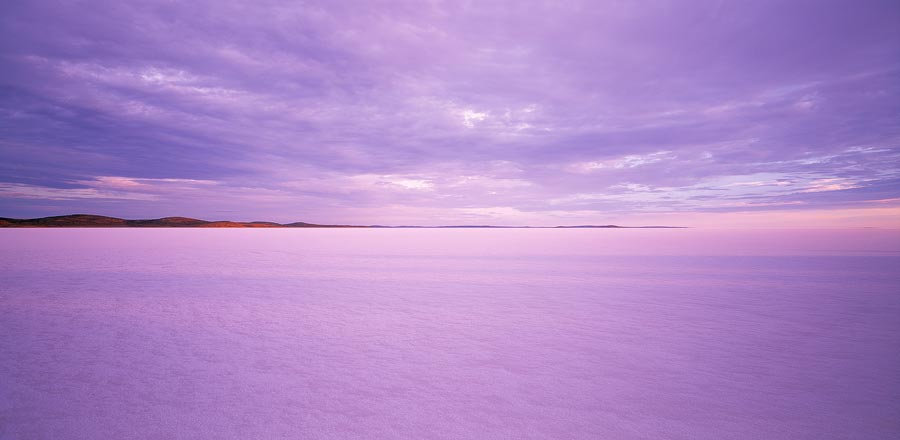 Endorheic salt lake, Lake Gairdner, Eyre Peninsula, South Australia