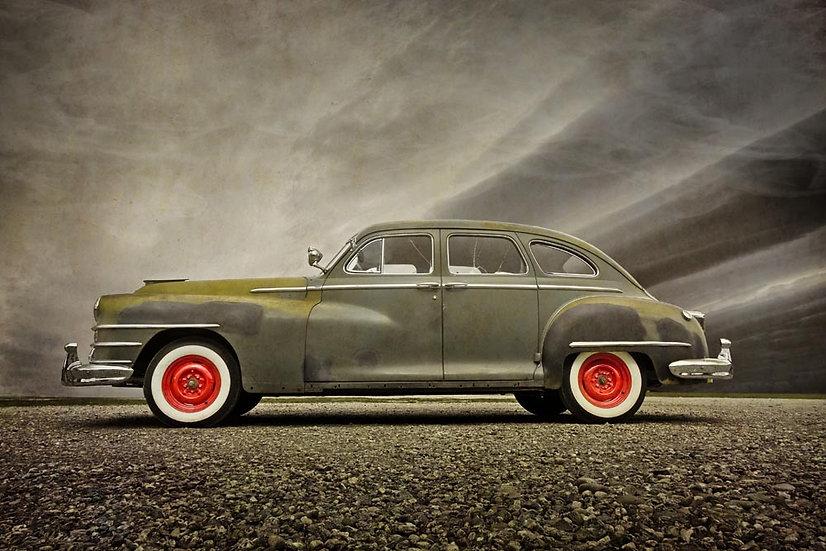 Vintage Car, Wanaka, New Zealand