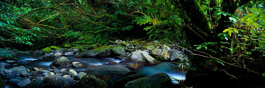 River, South Island, New Zealand