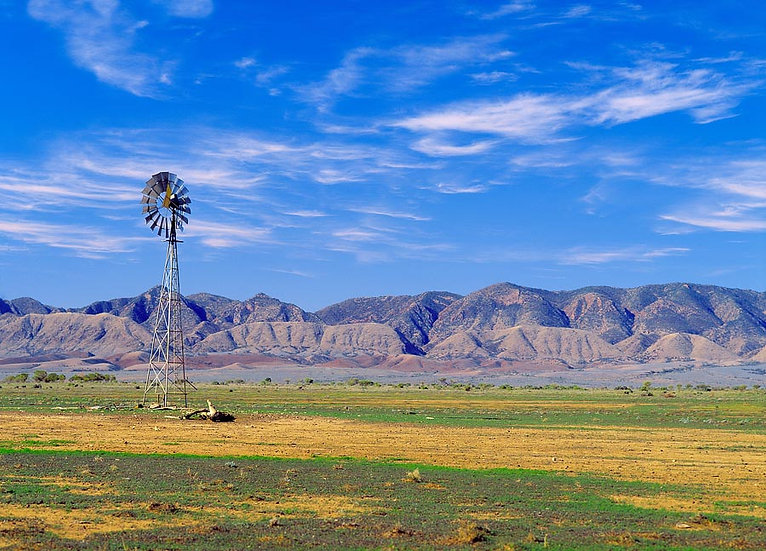 Flinders Ranges Windmill, South Australia