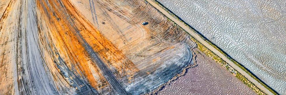 Mining, Land Patterns Collie, Western Australia