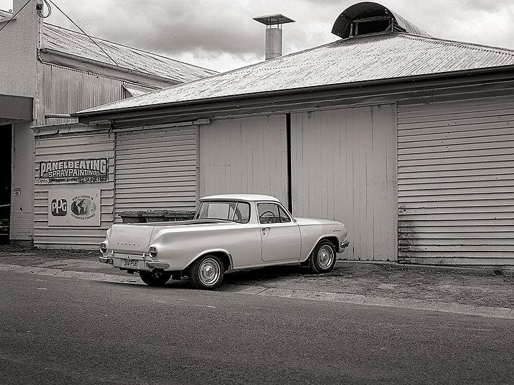 Old Holden Utility truck, vintage car.