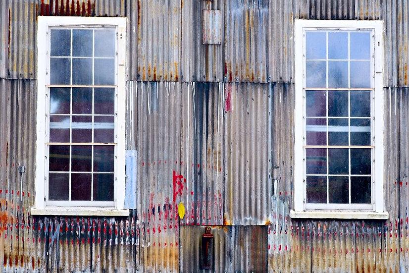 Corrugated Iron Warehouse