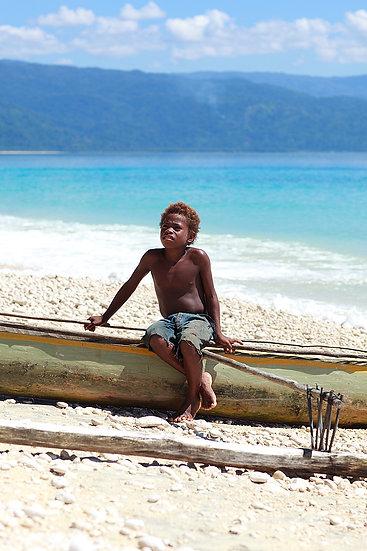 A Local Boy, Papua New Guinea