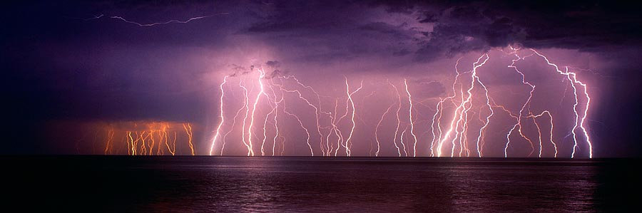 Lightning storm, Dunsborough, South Western Australia